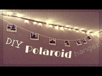 DIY Polaroid Hanger | The Make-up Guide