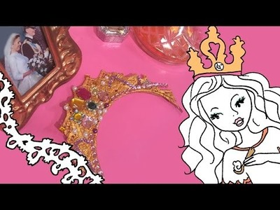Jill - DIY: Maak je eigen prinsessen-diadeem!