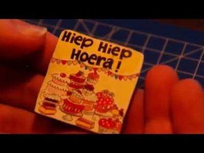 DIY Magneetjes maken Blond Amsterdam Magneet