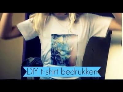 Zelf shirt bedrukken ❤️ DIY