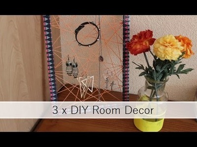 3 x DIY Room Decor | Ordinary Odd