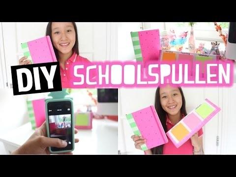 DIY Schoolspullen!   Back To School