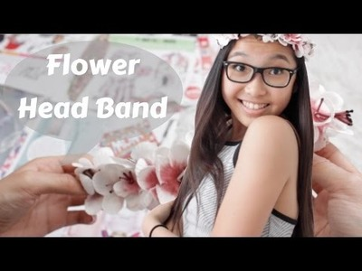 DIY SUMMER HEAD BAND | #CinVi