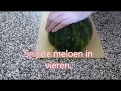 DIY - Watermeloen ijsjes