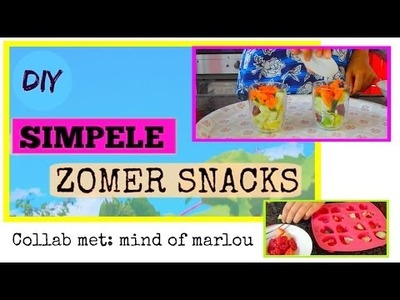 DIY Zomer Snacks. Collab met mind of marlou