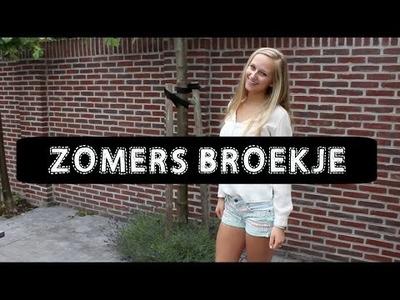 DIY Zomers Broekje ♥ MADEBY Noelle