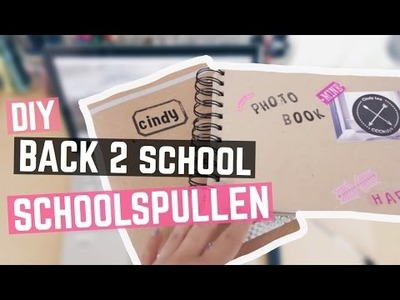 BACK 2 SCHOOL: DIY SCHOOLSPULLEN