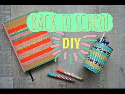 BACK TO SCHOOL - DIY - Budget!