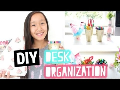 DIY Desk organization | Back to School collab met JellyJennifer