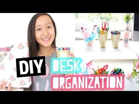 DIY Desk organization | Back to School collab met JellyJennifer