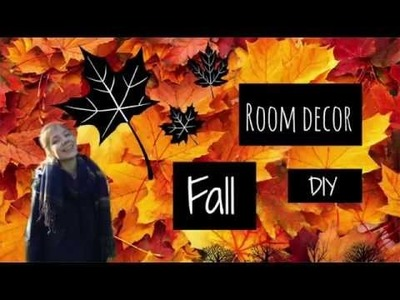 Diy fall room decor