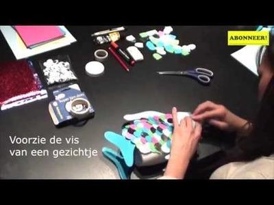 DIY: Maak je eigen spaarpot in de vorm van een vis!