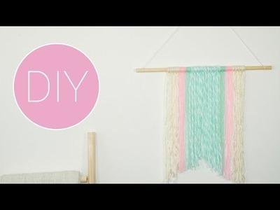 DIY Wollen wanddecoratie