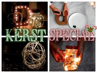 COLLAB #3 KERST SPECIAL diy decor ~ Demi for Beauty