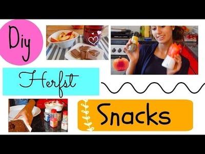 Diy Fall Snacks. Makkelijk & Snel - Mylifeasamber #FallCollab