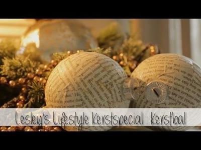 DIY Kerstballen II Kerstspecial Lesley's Lifestyle