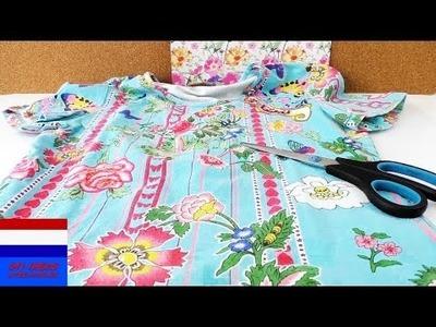 DIY TAS zonder naaien voor de zomer van T-shirt   Uit Oud wordt Nieuw