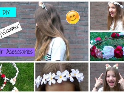DIY Spring.Summer Hair Accessories! | BeautyDress