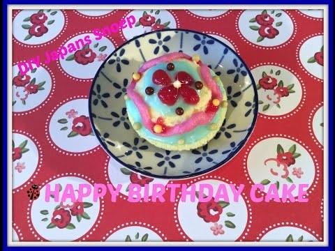 DIY: Japans Snoep Popin' Cookin Birthday Cake, erg lekker!