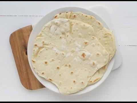 DIY tortilla wraps van speltbloem