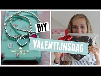 DIY Valentijnsdag: Tiffany inspired armbandje & Chocoladehart ♥ MADEBYNoelle