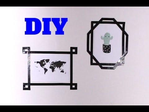 DIY: WALL ART met TAPE (2 simpele ideeën) || DIY DONDERDAG ||