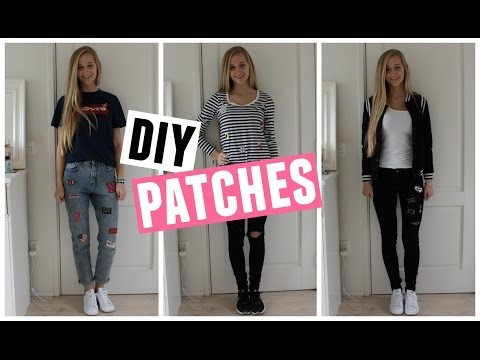 DIY Patches ♥ MADEBYNoelle