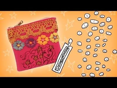 Jill - DIY: Maak een fancy portemonneetje
