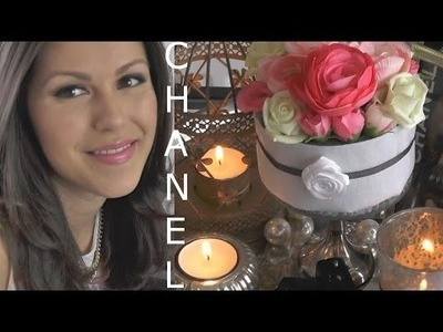 ♥ DIY Chanel inspired room decoration. kamer decoratie