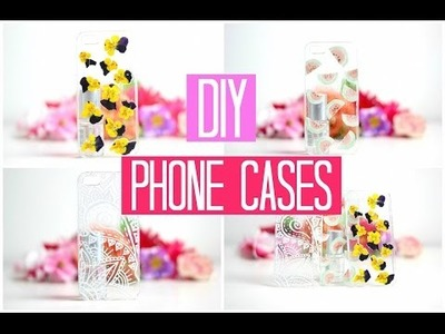DIY Easy Phone Cases! + WINACTIE (gesloten)!