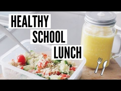 DIY HEALTHY SCHOOL LUNCHES | GET HEALTHY WITH ME!