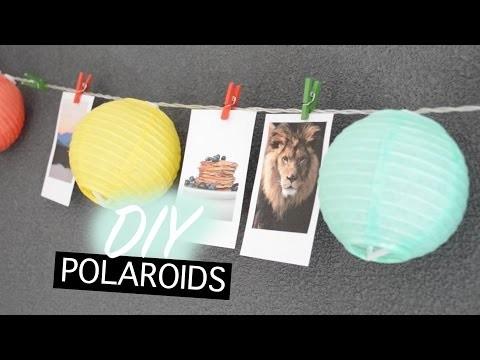 DIY polaroids maken