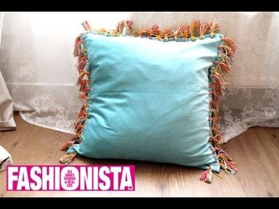 Fashionista DIY: Ibiza-Style Kussens