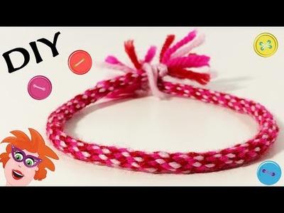 Nederlands DIY Friendship Bracelet - Zelf armbandjes vlechten