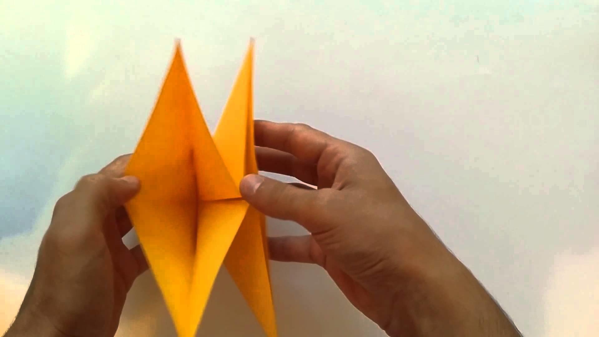 Hoe Maak Je Halloween Pompoenen.Hoe Maak Je Een Pompoen Maken Origami Pompoen Paper