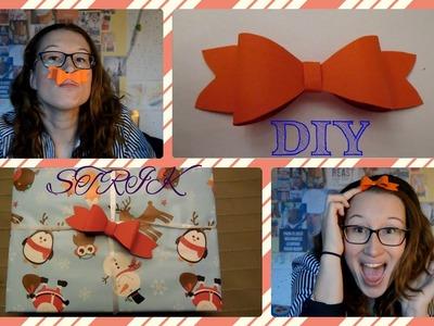 DIY met Marianne - #1 Strikje van Papier