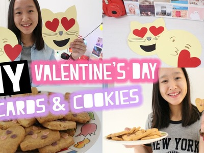 DIY Valentine's Day cards & cookies
