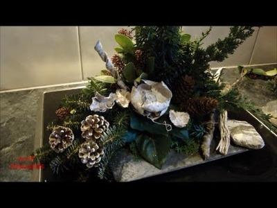 DIY workshop bloemschikken stap voor stap met tuinmaterialen deel 2