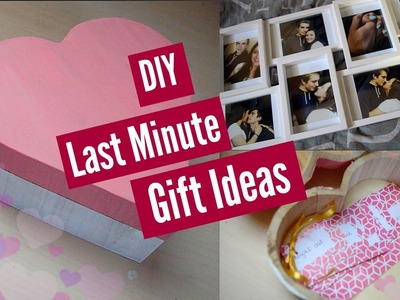 DIY Last Minute Valentine Gift Ideas