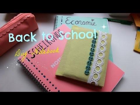 DIY Back to school notebook 2014 ♥ MADEBYNoelle