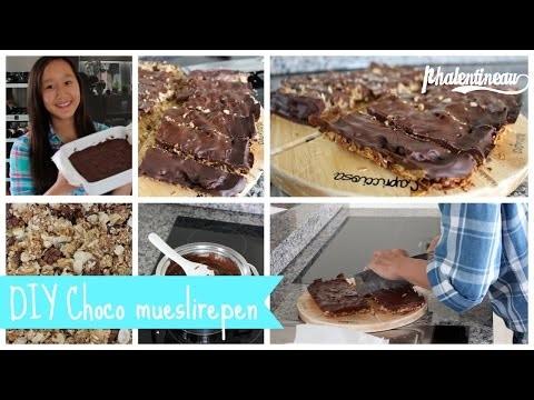 DIY Choco mueslirepen