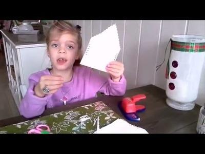 DIY: Een grote papieren 3D ster maken. Snel en makkelijk.