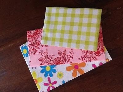 DIY: Enveloppen maken