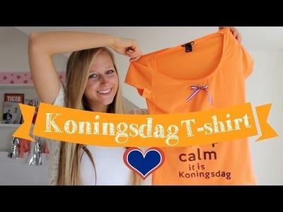DIY Koningsdag T- Shirt ♥ MADEBY Noelle