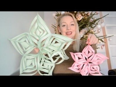 DIY: Papieren Kerstster | SophieStraalt.nl