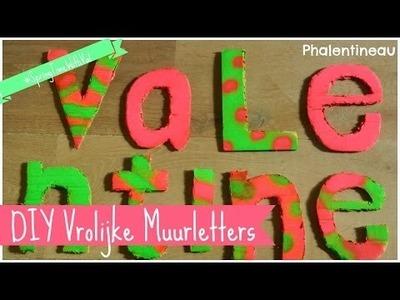 DIY Vrolijke Muurletters - #SpringTimeWithVal