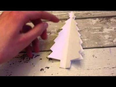 Kleine DIY: kerstboompjes knippen