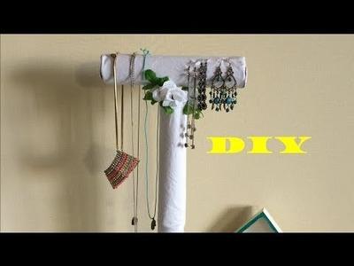 Sieradenhouder maken van  wc-rollenhouder?! :D - DIY Nederlands
