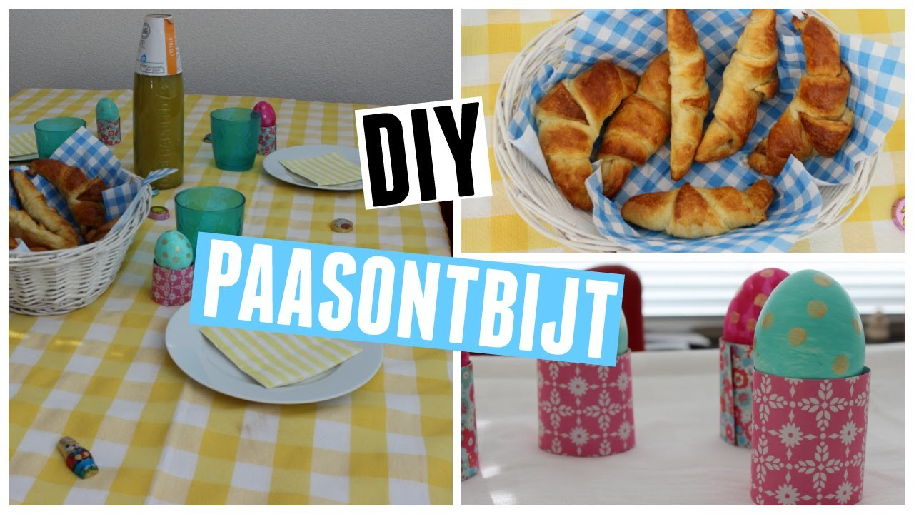 DIY paasontbijt ♥ MADEBYNoelle