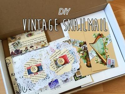 DIY Vintage snailmail